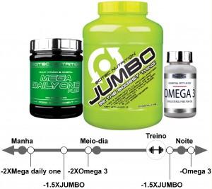 Pak aumento de massa muscular Nutribasico ectomorfo dos 20 aos 40anos