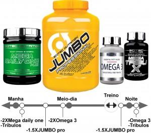 Pak aumento de massa muscular Nutribasico >40 ,ECTO,MESO,ENDO