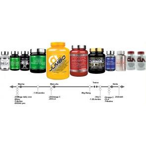 Pak aumento de massa muscular NutriAnabolico Endomorfo e mesomorfo dos 20 aos 40