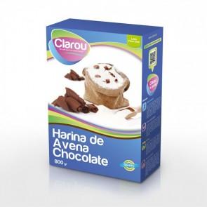 Clarou farinha de aveia com chocolate 800g