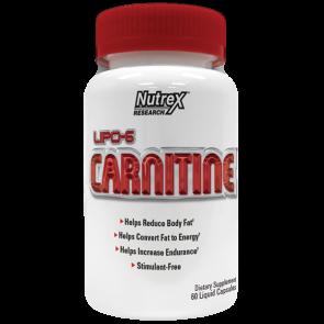 Lipo-6 L-carnitine - 120 Caps