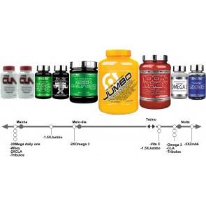 Pak aumento de massa muscular NutriTop  >40 ,ECTO,MESO,ENDO
