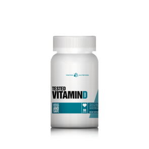 Tested Vitamin D 90 caps