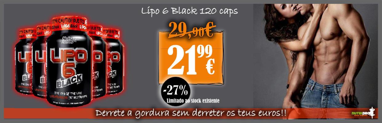 Promoção Lipo 6 Black